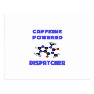 Caffeine Powered Dispatcher Postcard