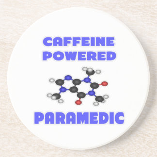 Caffeine Powered Paramedic Coasters