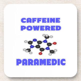 Caffeine Powered Paramedic Beverage Coasters