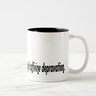 Caffeine Quote Mug