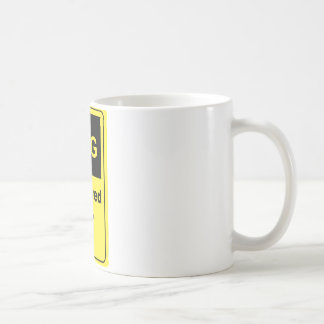 Caffeine Warning Lecturer Coffee Mugs