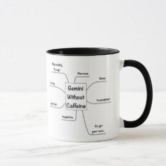 Caffeine Zodiac Gemini Mug