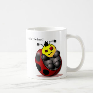 CaffeineLadyBugs Coffee Mug