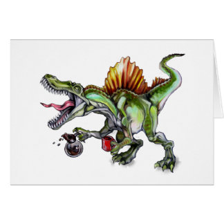 Caffeinosaurus Card