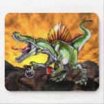 Caffeinosaurus Mouse Pads