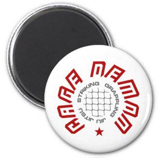 Cage Demon 6 Cm Round Magnet
