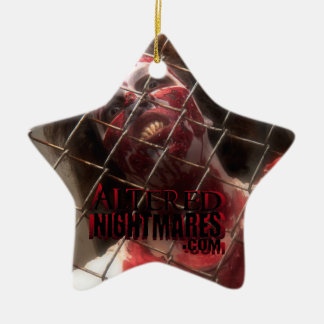 Cage of Terror Star Christmas Ornament