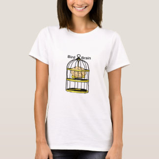 Caged Bird Brain T-Shirt