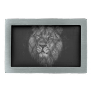 Caged king belt buckle