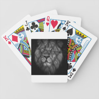 Caged king bicycle playing cards