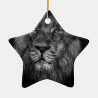 Caged king christmas ornament