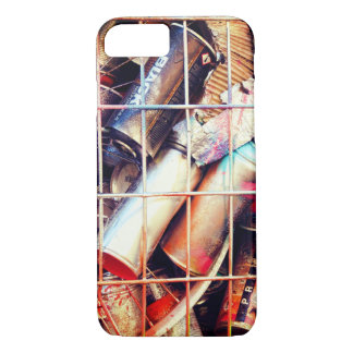 Caged Street Art Spray Cans iPhone 8/7 Case