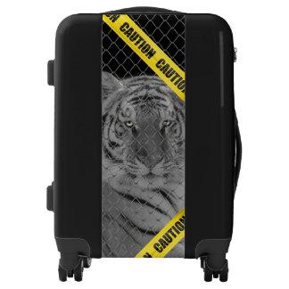 Caged White Tiger Ugo Luggage