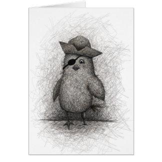 Cagey Old Bird Card