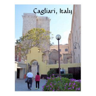 Cagliari, Sardinia, Italy Postcard