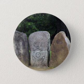 Caguana Indian Park PR 6 Cm Round Badge