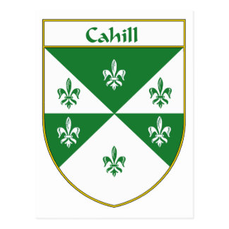 Cahill Coat of Arms/Family Crest Postcard