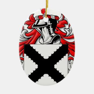 Cahoon Coat of Arms Christmas Tree Ornaments