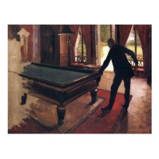 Caillebotte: Billiards Postcard