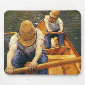 Caillebotte: Boaters Rowing on the Yerres Mouse Mat