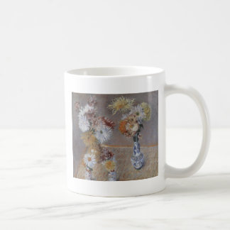 Caillebotte Four Vases of Chrysanthemums Coffee Mug