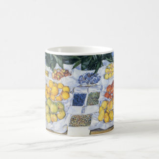 Caillebotte: Fruit Displayed on a Stand Basic White Mug