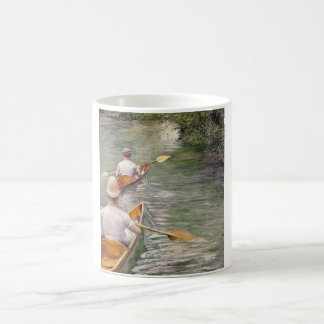 Caillebotte: The Canoes Coffee Mug