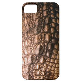 Caiman Crocodile Skin Reptile-Effect Phone Case