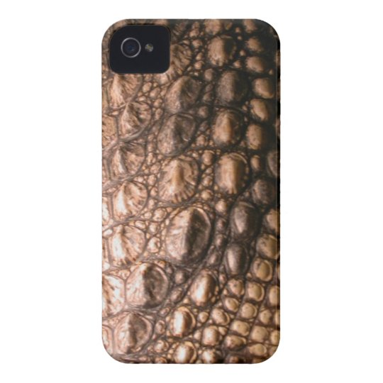 Caiman Crocodile Skin Reptile iPhone 4 Case