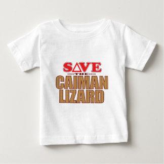 Caiman Lizard Save Baby T-Shirt
