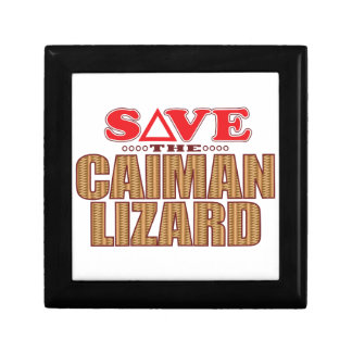 Caiman Lizard Save Gift Box