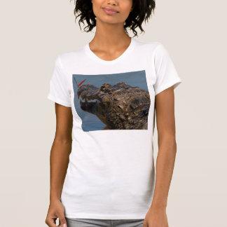 Caiman with a butterfly, Brazil T-Shirt