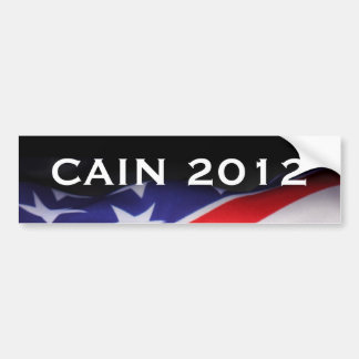 CAIN 2012 Campaign Bumper Sticker