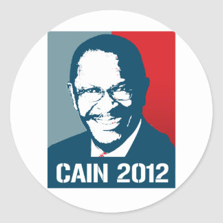 CAIN 2012 POSTER ROUND STICKERS