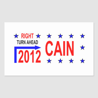 CAIN  2012 RECTANGLE STICKER