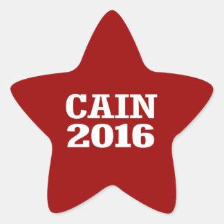 CAIN 2016 STAR STICKER