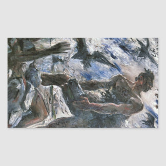 Cain by Lovis Corinth Stickers
