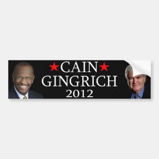 Cain/Gingrich Bumper Sticker