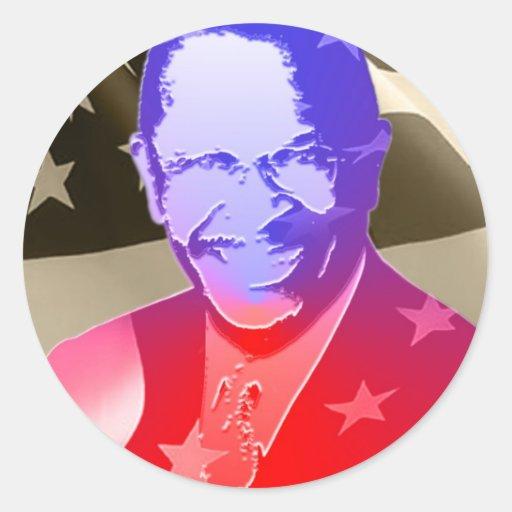 Cain-Herman Sticker