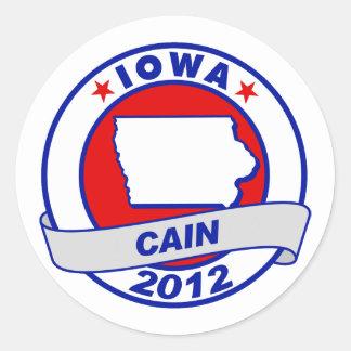 Cain - Iowa Sticker