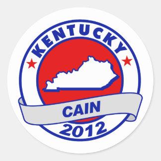 Cain - Kentucky Round Sticker