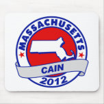 Cain - Massachusetts Mouse Pads
