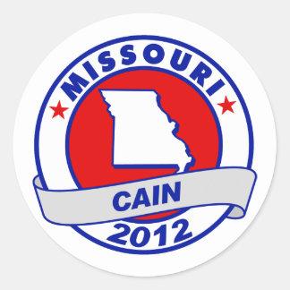 Cain - Missouri Stickers