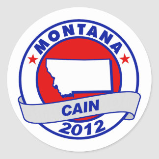 Cain - Montana Stickers