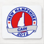 Cain - New Hampshire Mouse Pad