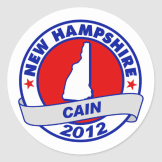 Cain - New Hampshire Sticker