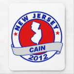 Cain - New Jersey Mouse Pads