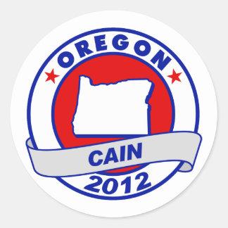 Cain - Oregon Stickers