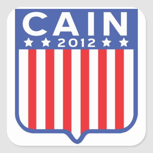 Cain Stars and Stripes Shield Stickers