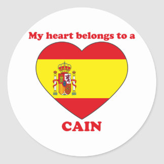 Cain Stickers